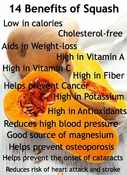 14 benefits of squash