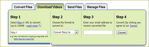 download video and convert