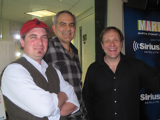 The Meat Market's Jeremy Stanton with Bruce Weinstein and Mark Scarbrough.