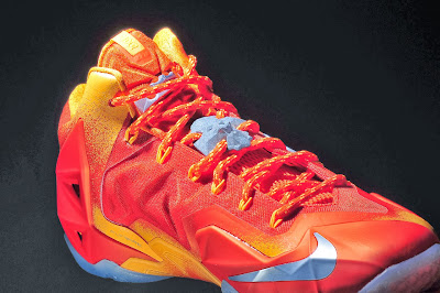 nike lebron 11 gr atomic orange 4 13 forging iron New Look at Forging Iron LeBron XI and Its Sick Packaging!