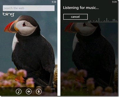 bing audio