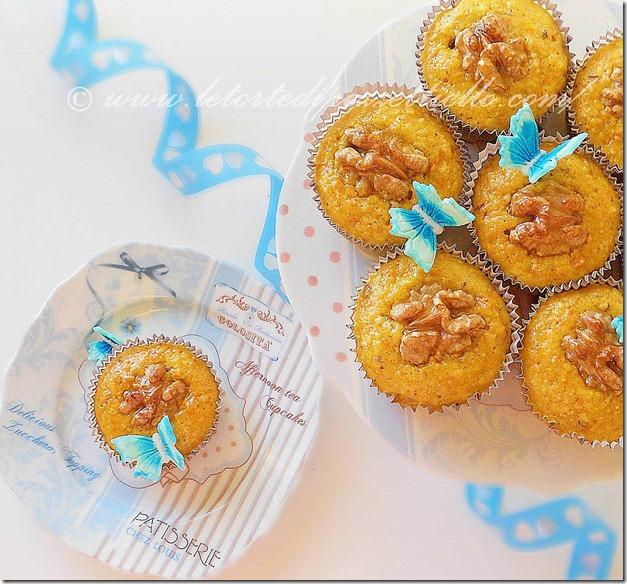 Cupcakes alla nocciola con Tang Zhong