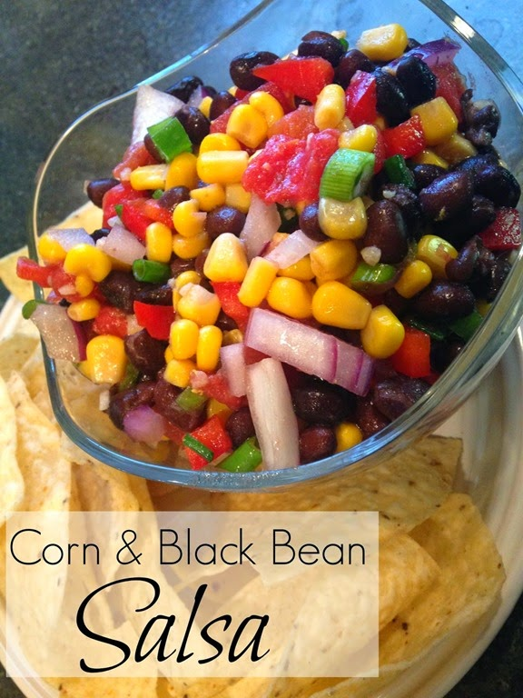 Corn & Black Bean Salsa Cover