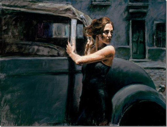 Fabian Perez 1967 - Argentine Figurative painter - Reflections of a Dream - Tutt'Art@ (14)