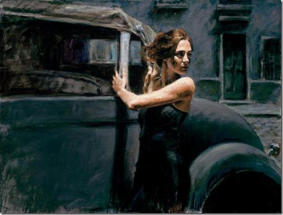 Fabian Perez 1967 - Argentine Figurative painter - Reflections of a Dream - Tutt'Art@ (14)