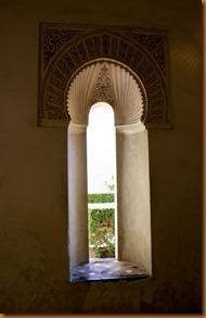Malaga, window alcazabar
