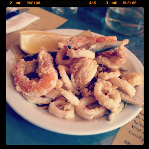 #281 - fritto misto at Polpo