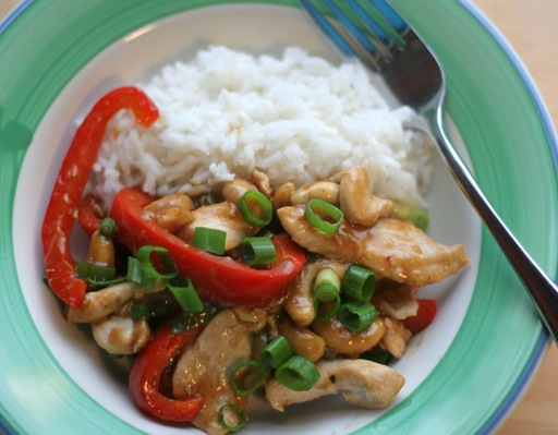 cashew chicken 1