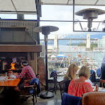 breath-taking view and lunch at the Sand Bar in Vancouver by Matt van Vuuren in Vancouver, British Columbia, Canada