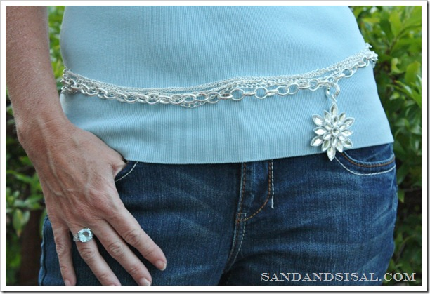 Styled by Tori Spelling Create a Belt