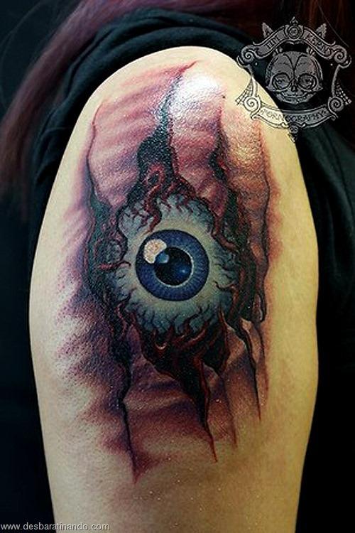 tatuagens ilusoes de otica optica ilusion tatoo desbaratinando  (22)