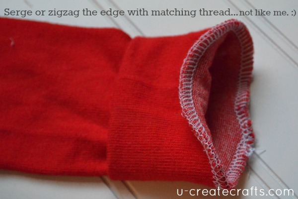 Baby Leg Warmers Tutorial 7