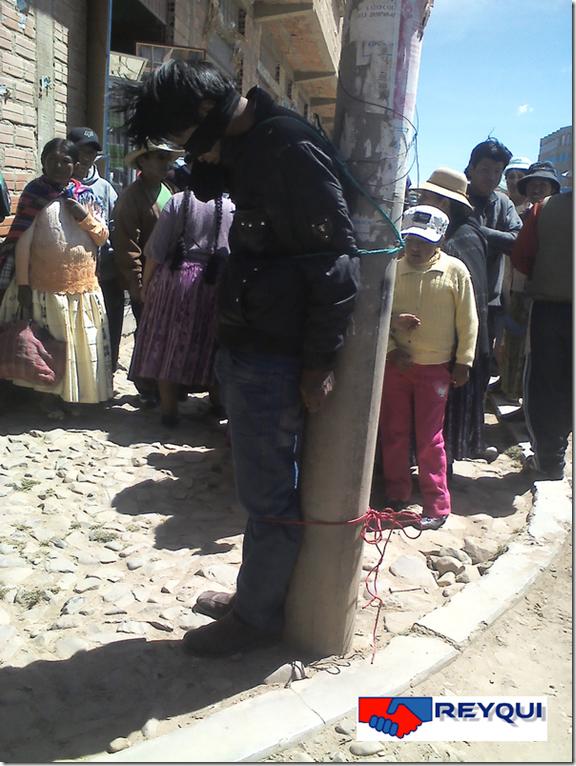 Linchamientos en El Alto, Bolivia
