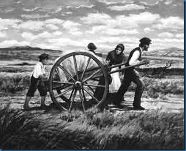 Handcart-on-the-Plains