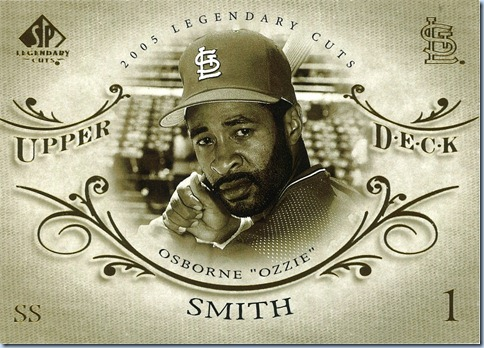 2005 SP Legendary Cuts Smith