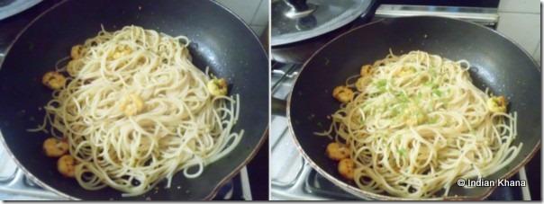 Easy aglio olio spaghetti recipe