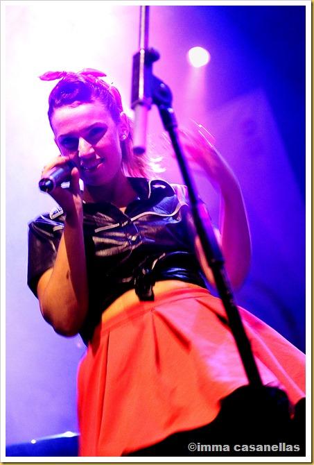 Laia Martí amb Mercy Mercy Soul, Carpa Negra, Vic 2013