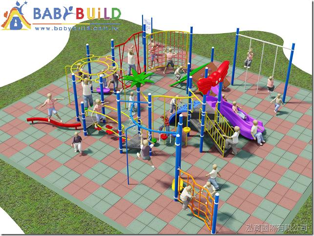 BabYBuild 兒童體適能遊戲設施