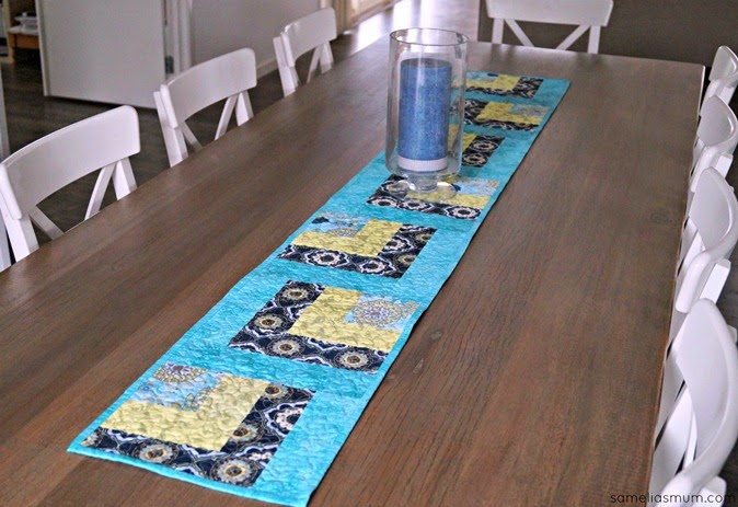 Whip it Up Quick Table Runner 1