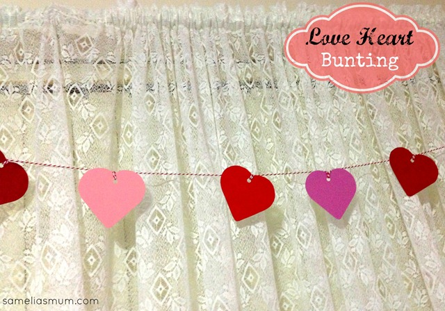 Love Heart Bunting