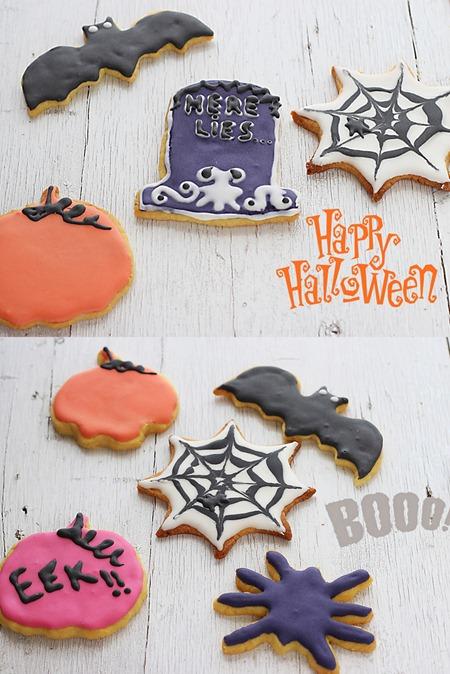Halloween cookies 14