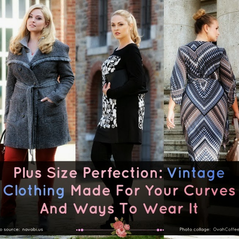 Plus Size Perfection: Vintage Clothing Made…