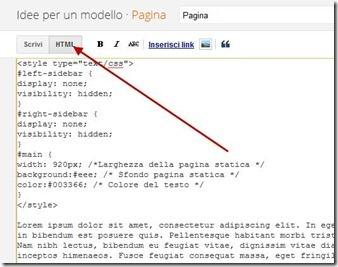 personalizzare-pagine-statiche-blogger