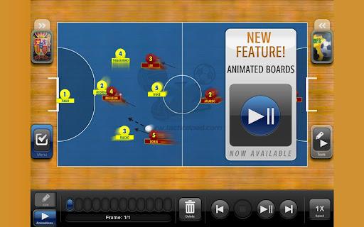 TacticalPad Futsal Hand Lite