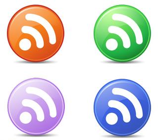 circle feed icons
