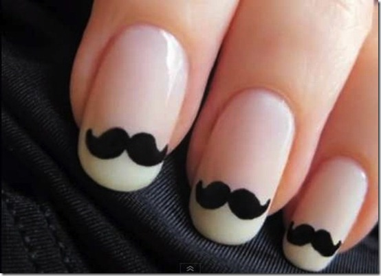 moustache-nails