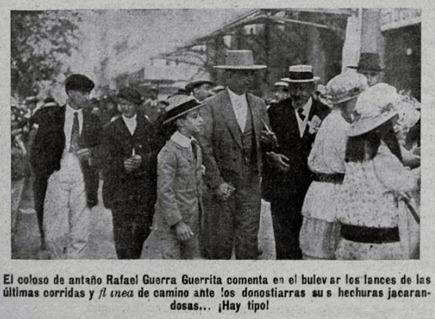 1915-08-22 (p. 23 TKL) Guerrita espectador