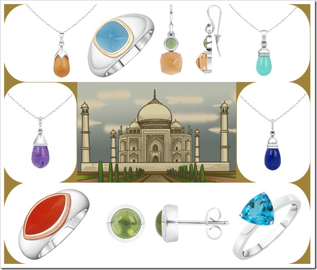 Taj Mahal Collection Jewelry