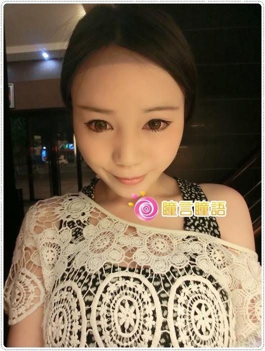 日本KRIAKRIA隱形眼鏡-Sweety Eye 糖果巧克力CIMG1905