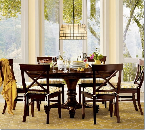 Pedestal Dining Tables Pottery Barn