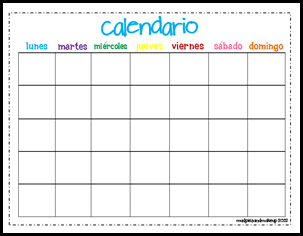 Spanish Month