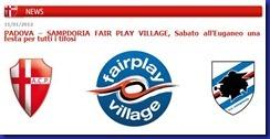 padova samp fair play village