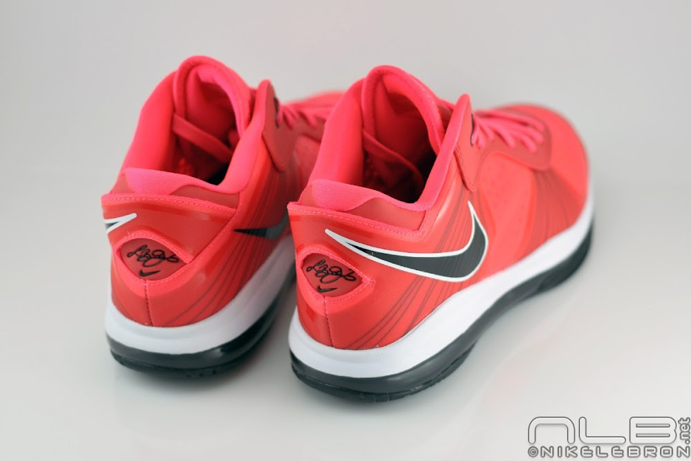 lebron 8 low red - photo #10