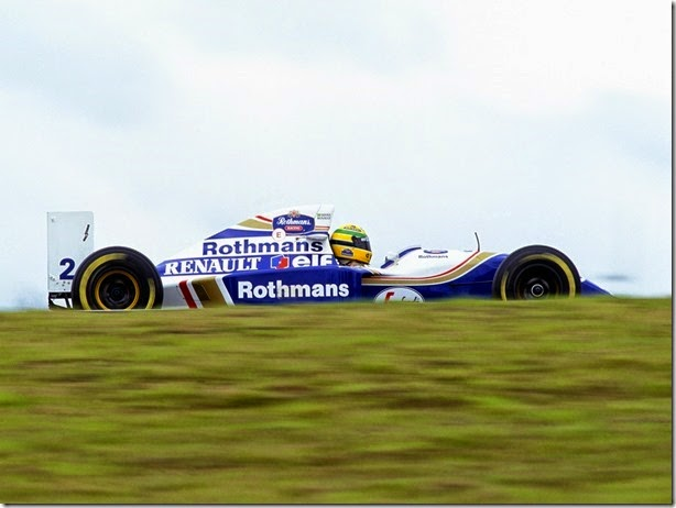 1994 Brazilian Grand Prix.
