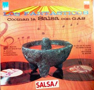 LOS FANTASTICOS Cocinan la salsa con gas F