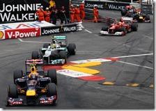 Il trenino nel gran premio di Monaco 2012