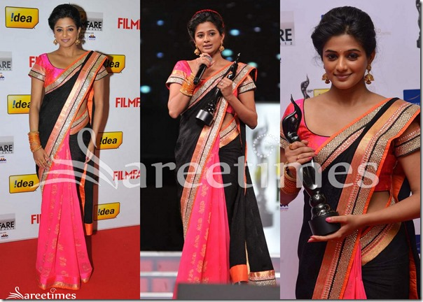 Priyamani_Sabyasachi_Half_and_Half_Saree