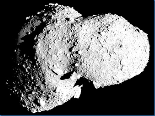 Asteroid-Itokawa Credit- NASA