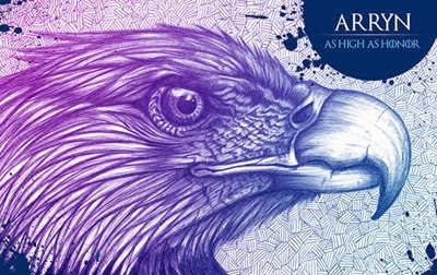 Game of Thrones House Arryn by O'lee Graphiste