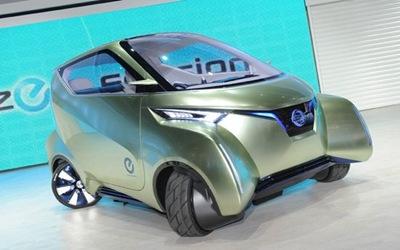 coche-electrico-energia-Nissan Pivo 3