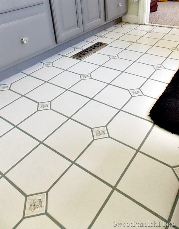 bathroom grout after6