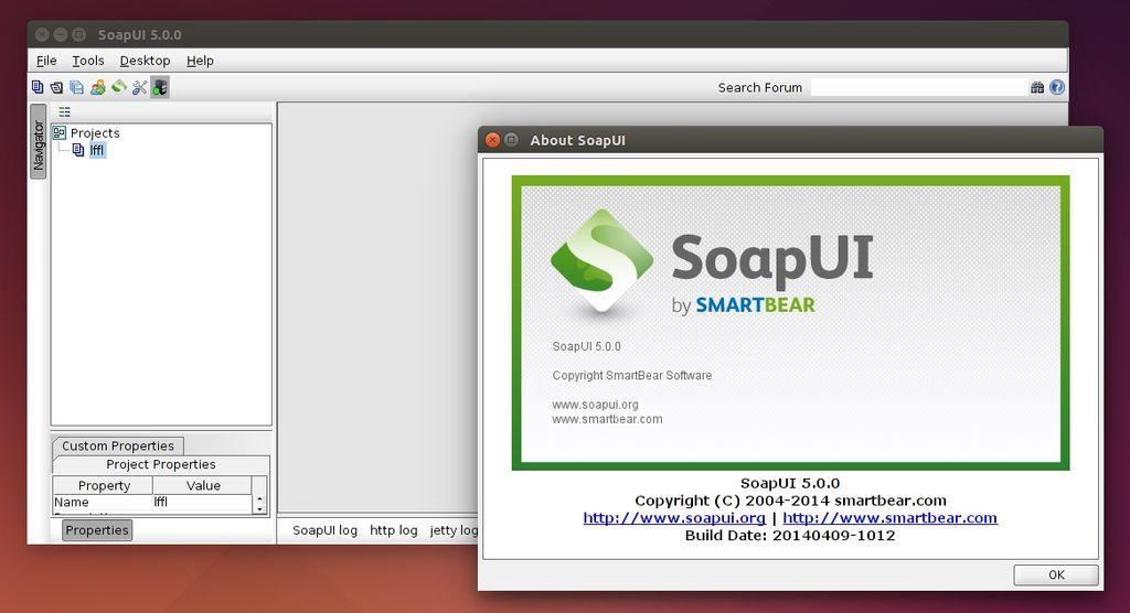 SoapUI 5.0 in Ubuntu Linux