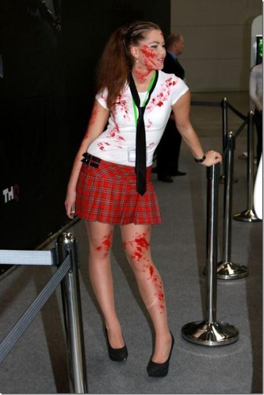 Belas garotas em um evento de anime na Russia (5)