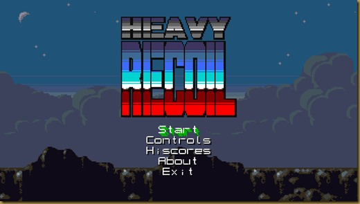 Heavy Recoilタイトル