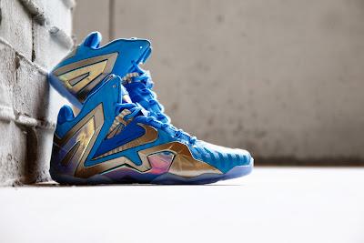 nike lebron 11 ps elite blue 3m 2 01 Coming Soon: Nike LeBron 11 Elite Blue 3M