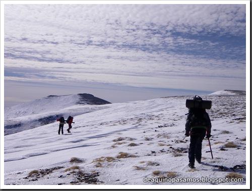 Picon de Jerez 3090m, Puntal de Juntillas y Cerro Pelao 3181m (Sierra Nevada) (Isra) 2754